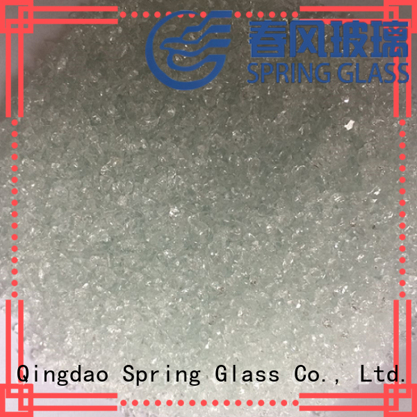 light crushed glass supplier for kitchen