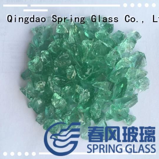 Spring Glass crushed glass for busniess for kitchen