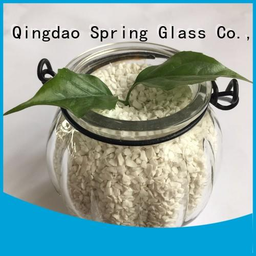 Spring Glass porcelain crushed glass wholesale for decoration