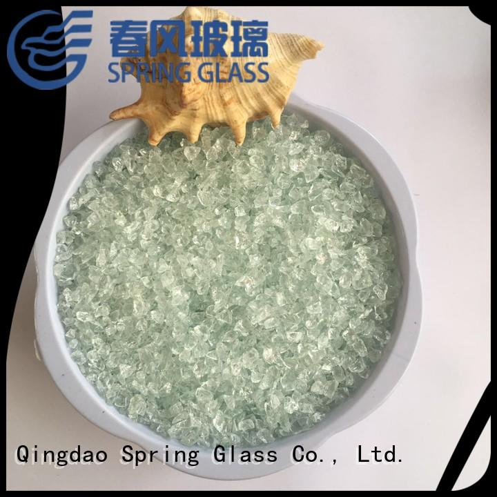 custom crushed glass manufacturer for sale