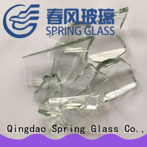 Spring Glass cullet factory for fire pit
