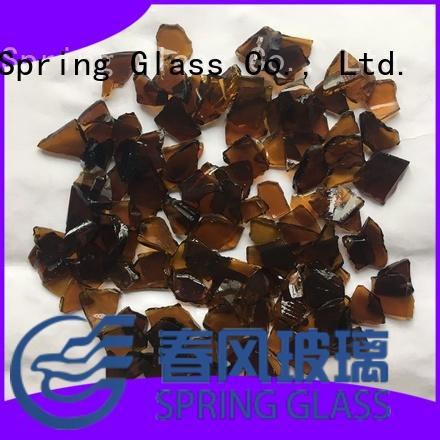 Spring Glass cullet supplier for fire bottle