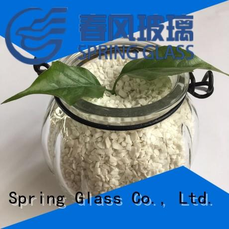 decorative crushed glass for decoration Spring Glass