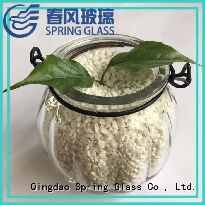 best decorative crushed glass manufacturer for floor