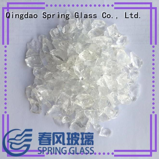 Spring Glass recycled recycled crushed glass manufacturer for sale