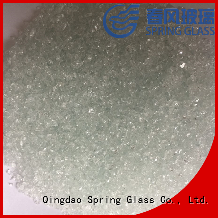 porcelain decorative crushed glass company for floor